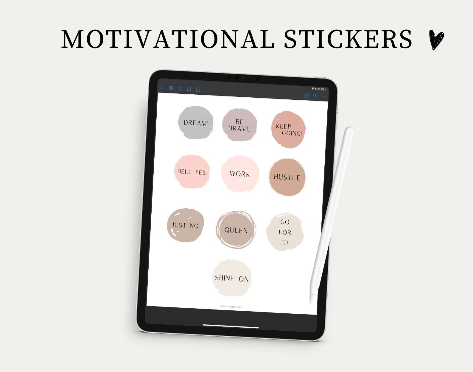 free digital stickers for goodnotes