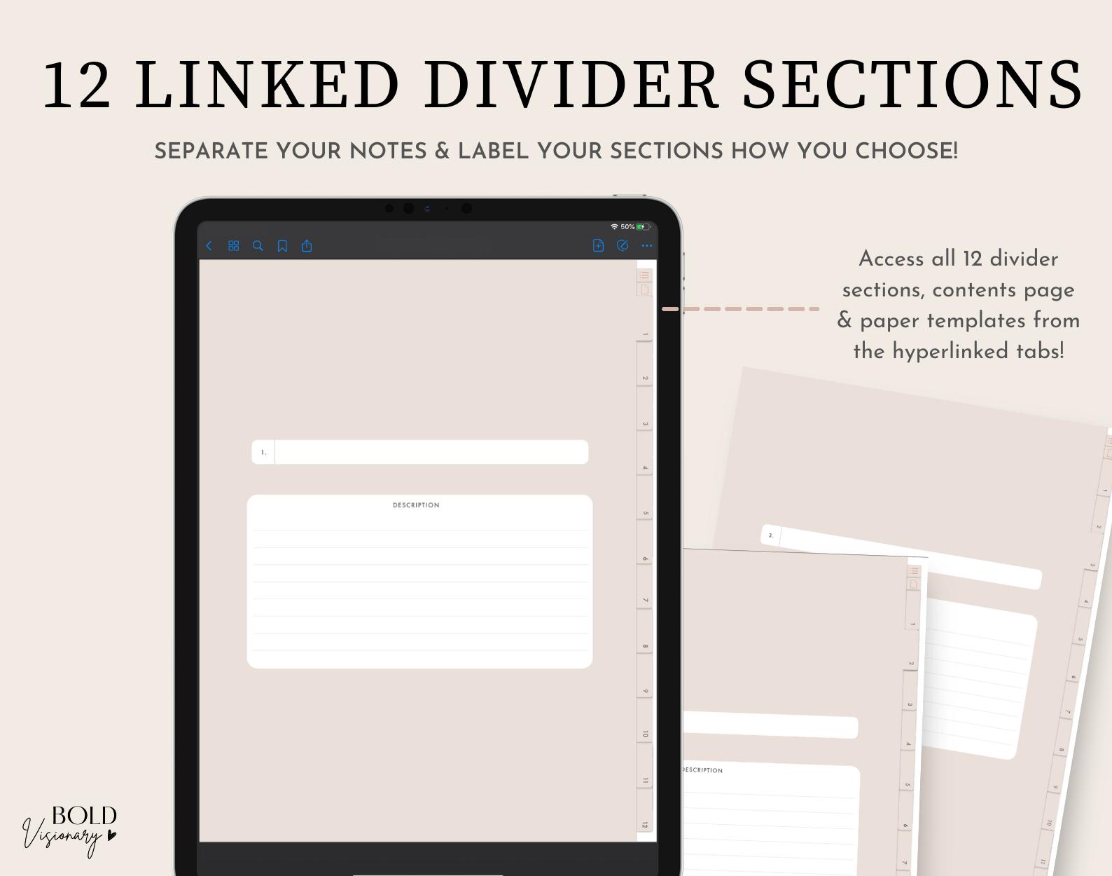 3Dividers-Bold-Visionary-Digital-Notebook